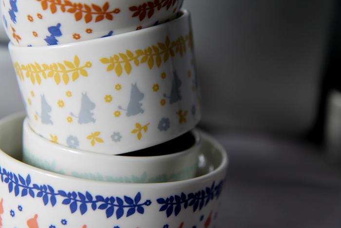 (複製)yamaka|MOOMIN嚕嚕米花繪系列-4入保鮮碗組(1大3小)