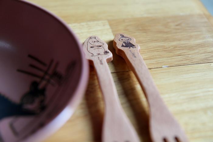 yamaka|MOOMIN嚕嚕米天然木系列-小不點叉子