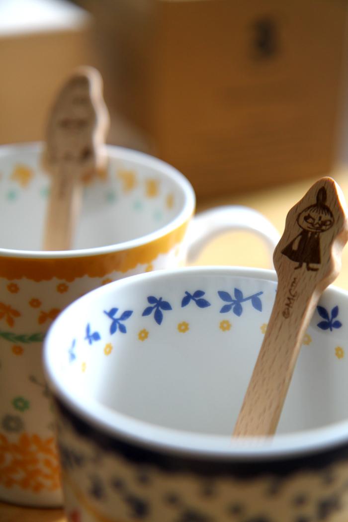 yamaka|MOOMIN嚕嚕米天然木系列-小不點咖啡勺