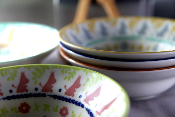 yamaka|MOOMIN嚕嚕米剪影系列-5入湯碗組