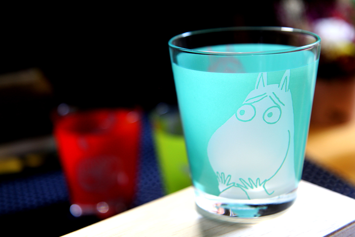 yamaka|MOOMIN嚕嚕米表情系列-玻璃杯3入組