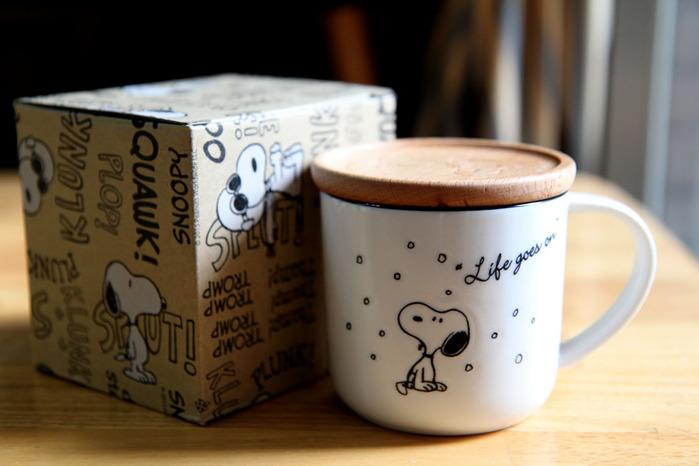 (複製)yamaka|SNOOPY史努比季節系列馬克杯+杯/墊蓋(秋天)