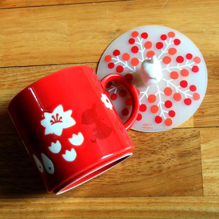 yamaka|MOOMIN嚕嚕米魔法系列-小不點馬克杯+杯蓋