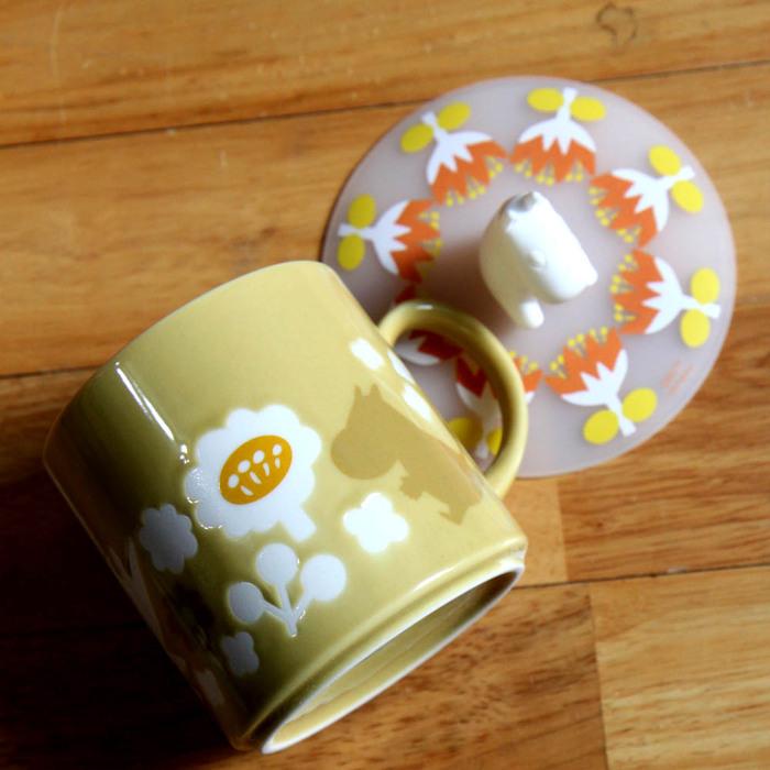yamaka|MOOMIN嚕嚕米魔法系列-嚕嚕米馬克杯+杯蓋