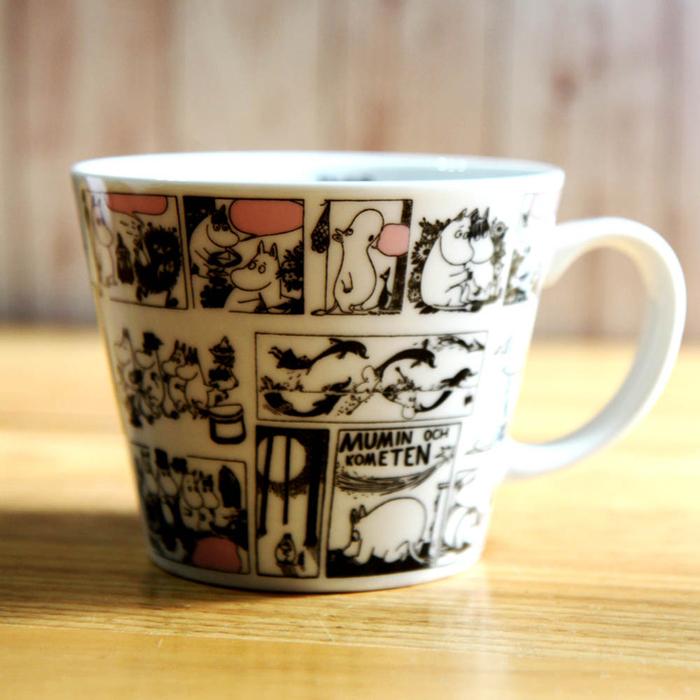 yamaka|MOOMIN嚕嚕米插圖系列-漫畫湯杯