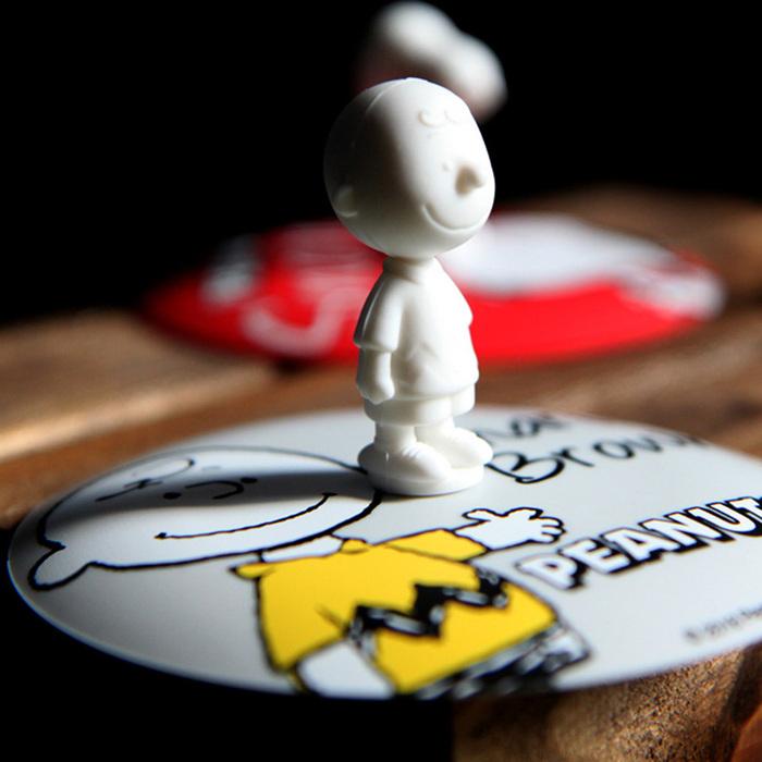 (複製)yamaka|SNOOPY史努比人物系列-查理布朗矽膠杯蓋