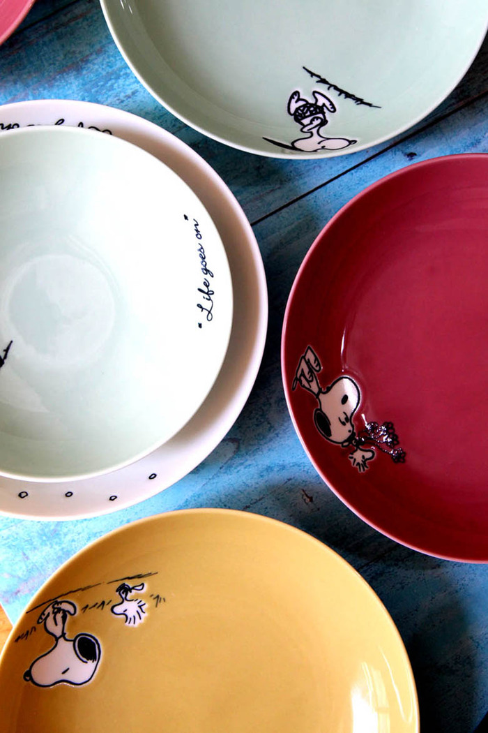 (複製)yamaka|SNOOPY史努比季節系列4入深盤17cm