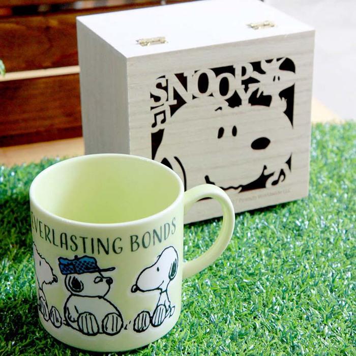 (複製)yamaka SNOOPY史努比情誼系列馬克杯(Good Vibes)含木盒