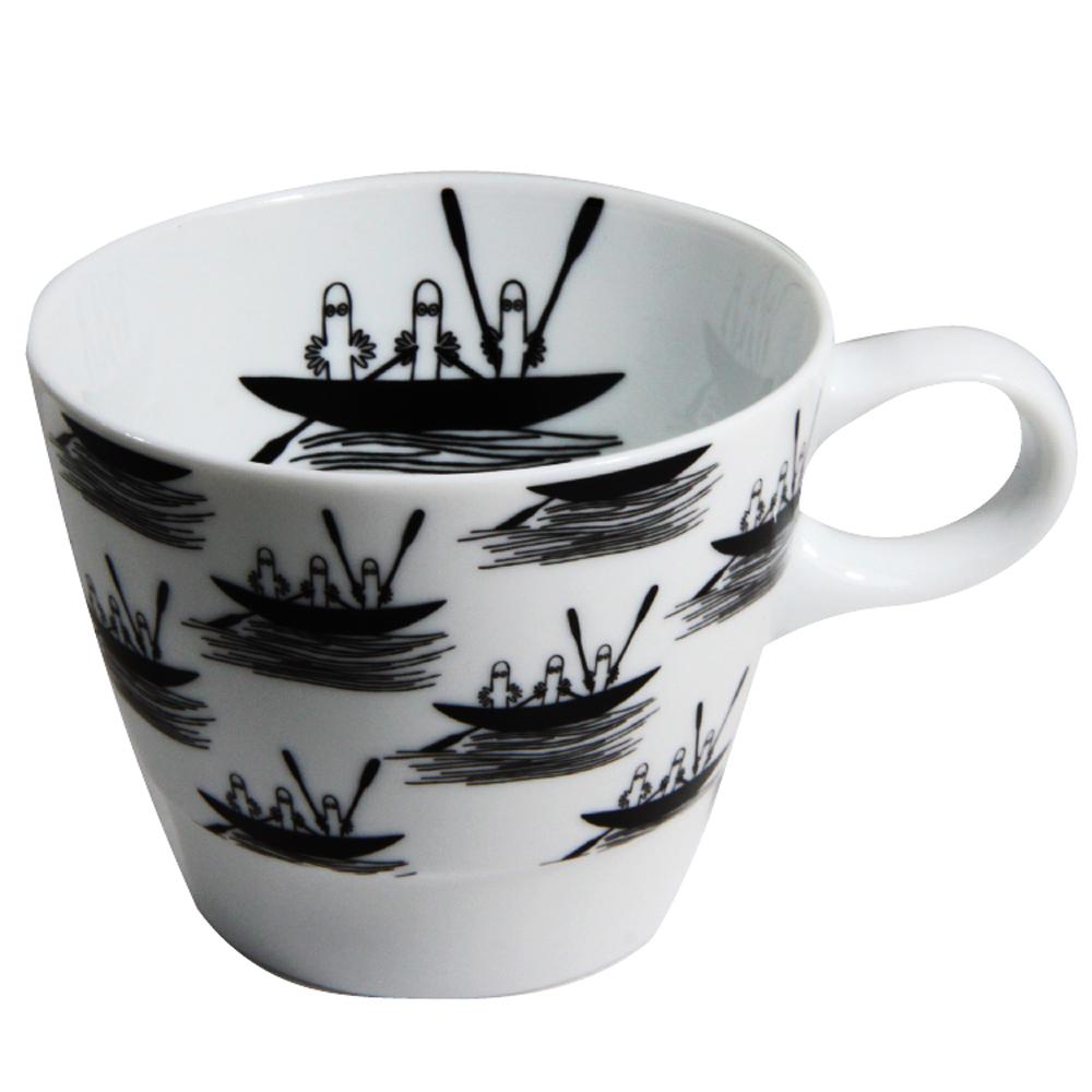 yamaka|MOOMIN嚕嚕米幾何系列-溜溜咖啡杯