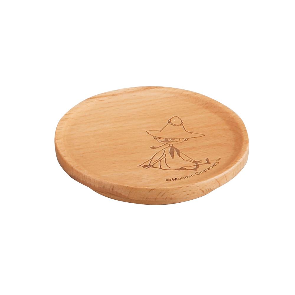 yamaka|MOOMIN嚕嚕米天然木系列-阿金杯蓋(墊)