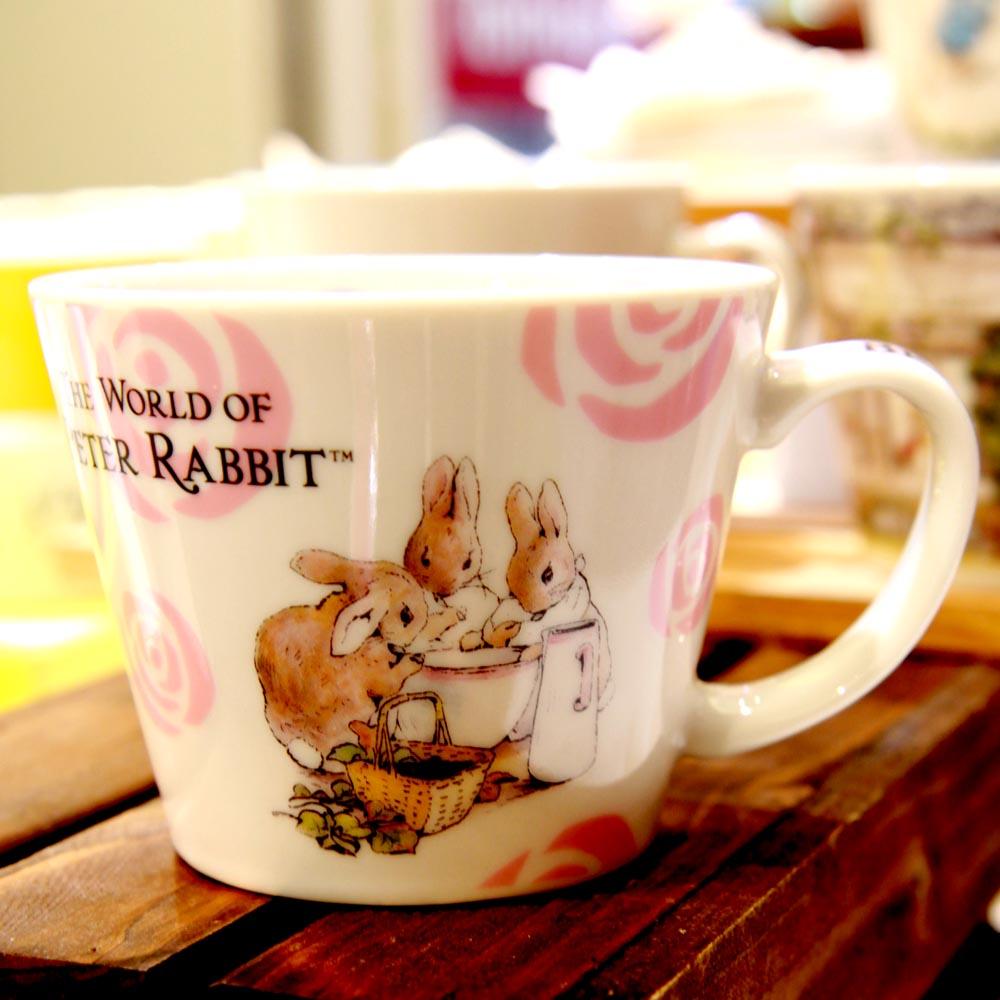 yamaka|PETER RABBIT 彼得兔優雅系列-湯杯(玫瑰)