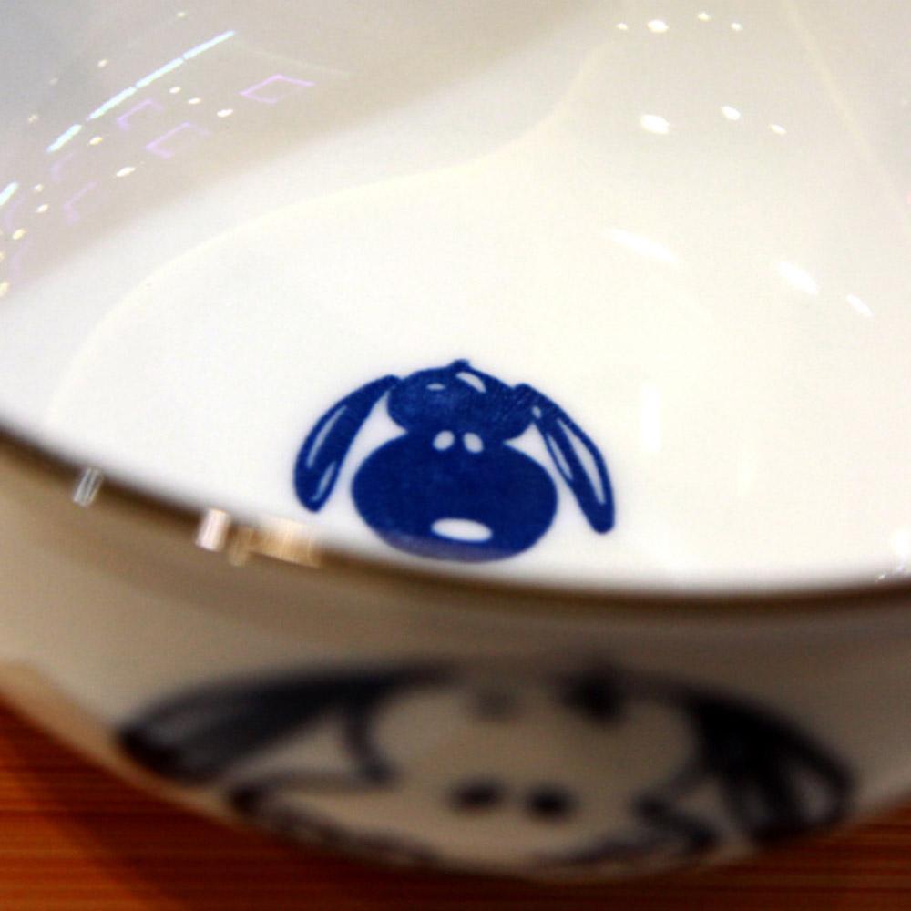 yamaka|SNOOPY史努比和風藍系列大碗(葫蘆)14.5cm