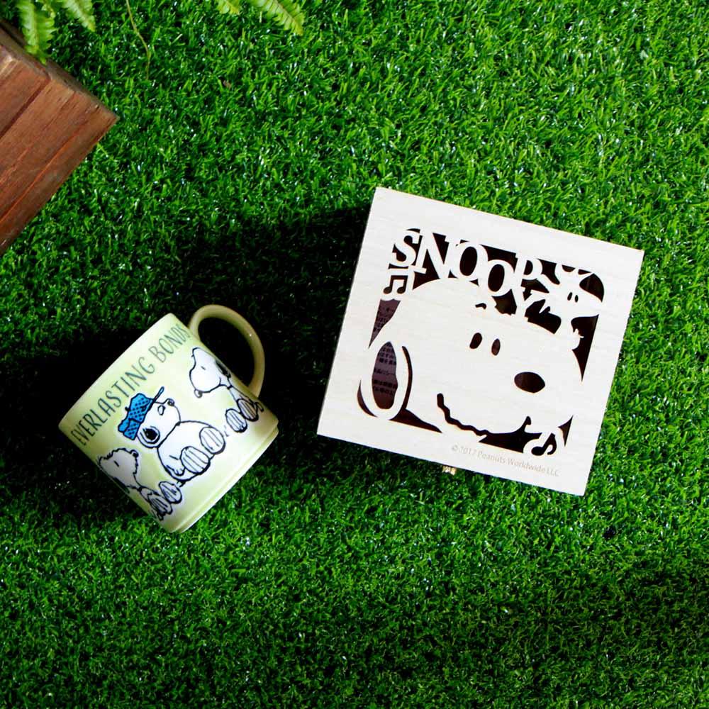 yamaka SNOOPY史努比情誼系列馬克杯(Brother)含木盒