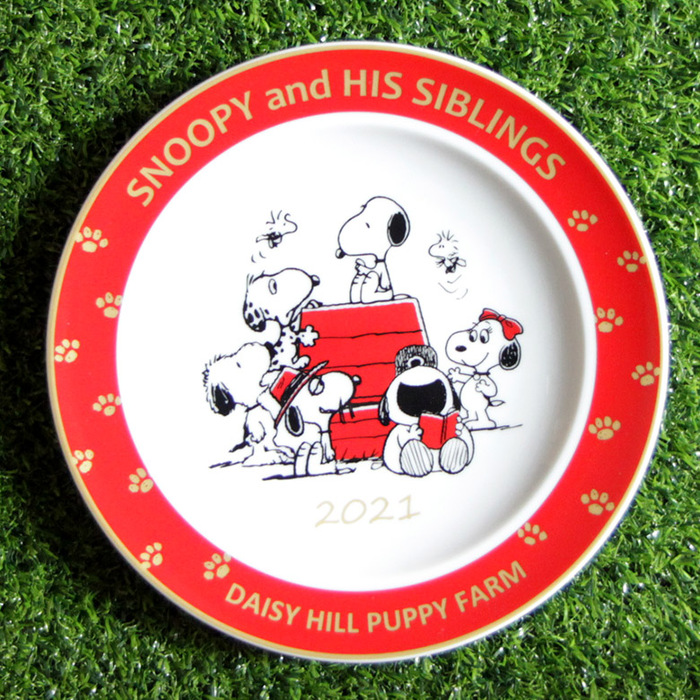 (複製)yamaka SNOOPY史努比70周年紀念盤 (隨盤附贈盤架)