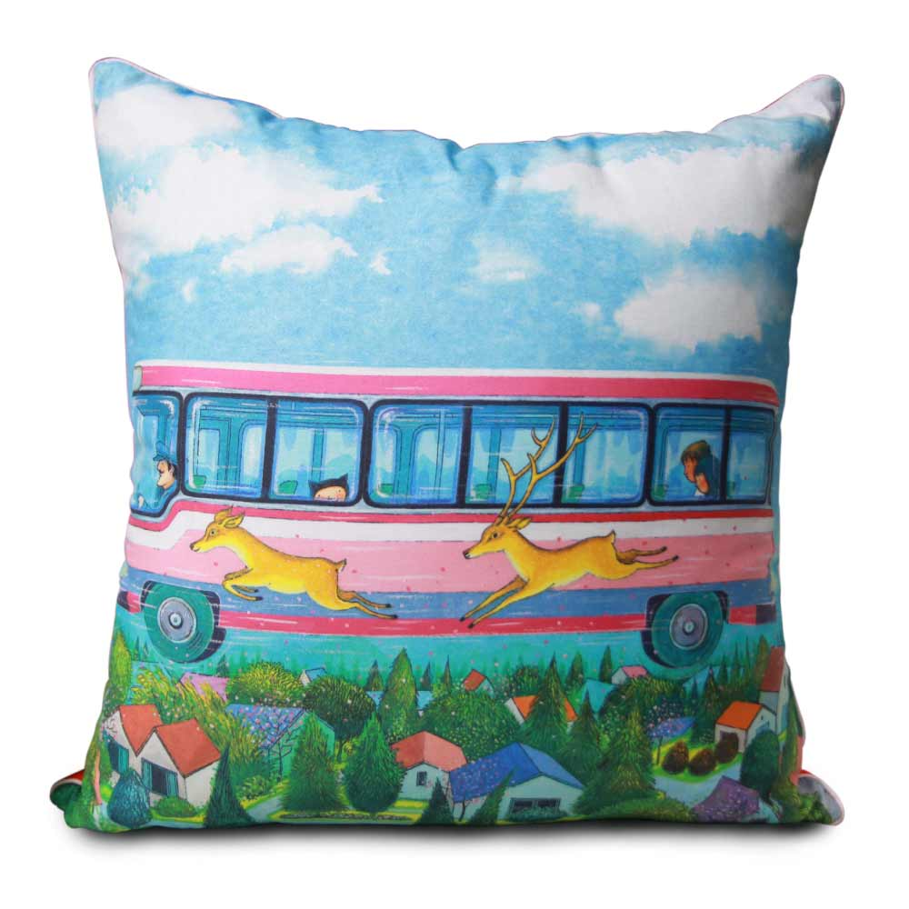 Kidult|星空  20週年  鹿伴巴士 數位抱枕