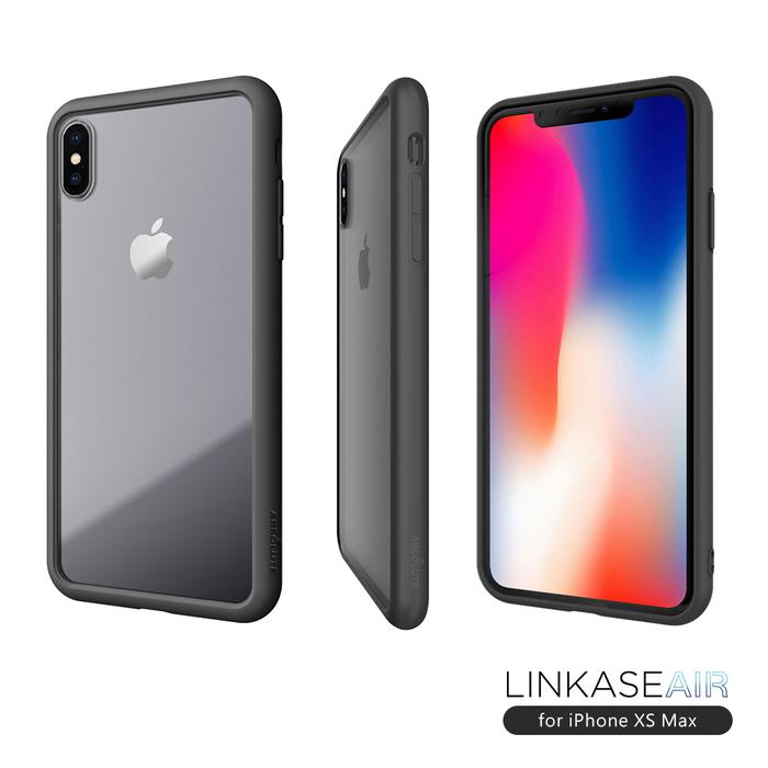 (複製)ABSOLUTE|LINKASE AIR iPhone XS/X (5.8吋)專用 美軍規防摔認證9H大猩猩康寧玻璃保護殼
