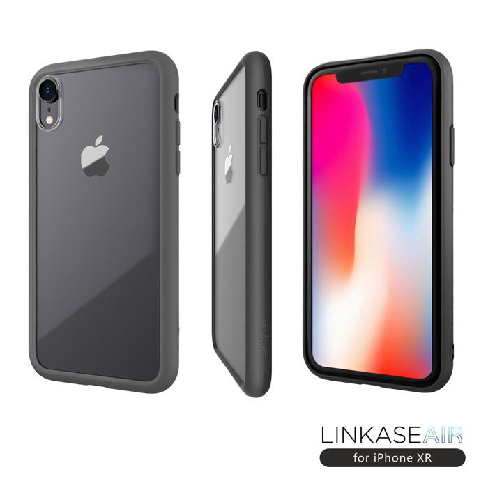 ABSOLUTE|LINKASE AIR iPhone XR(6.1吋)專用 美軍規防摔認證9H大猩猩康寧玻璃保護殼
