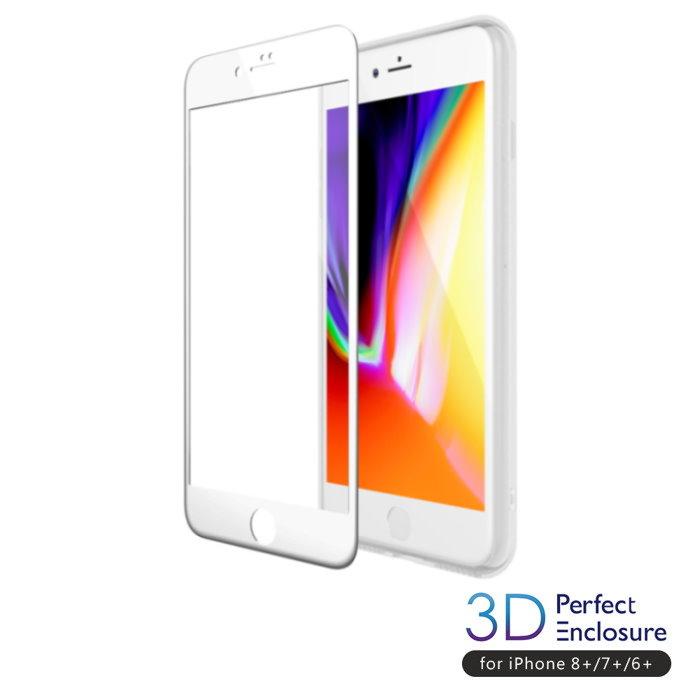 ABSOLUTE|PERFECT ENCLOSURE 日本旭哨子2x強化耐衝擊9H玻璃螢幕保護膜 iPhone 專用 -3D滿版