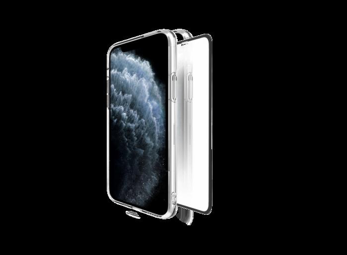 ABSOLUTE PERFECT ENCLOSURE 日本旭哨子2x強化耐衝擊9H玻璃螢幕保護膜 iPhone 專用 -3D滿版
