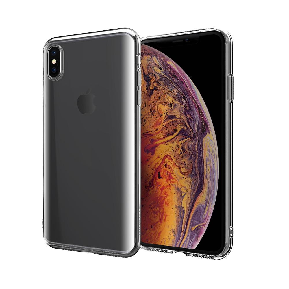 ABSOLUTE|LINKASE PRO 軍規防摔抗震大猩猩康寧曲面玻璃保護殼 iPhone XS/X(5.8吋)專用 -全透明