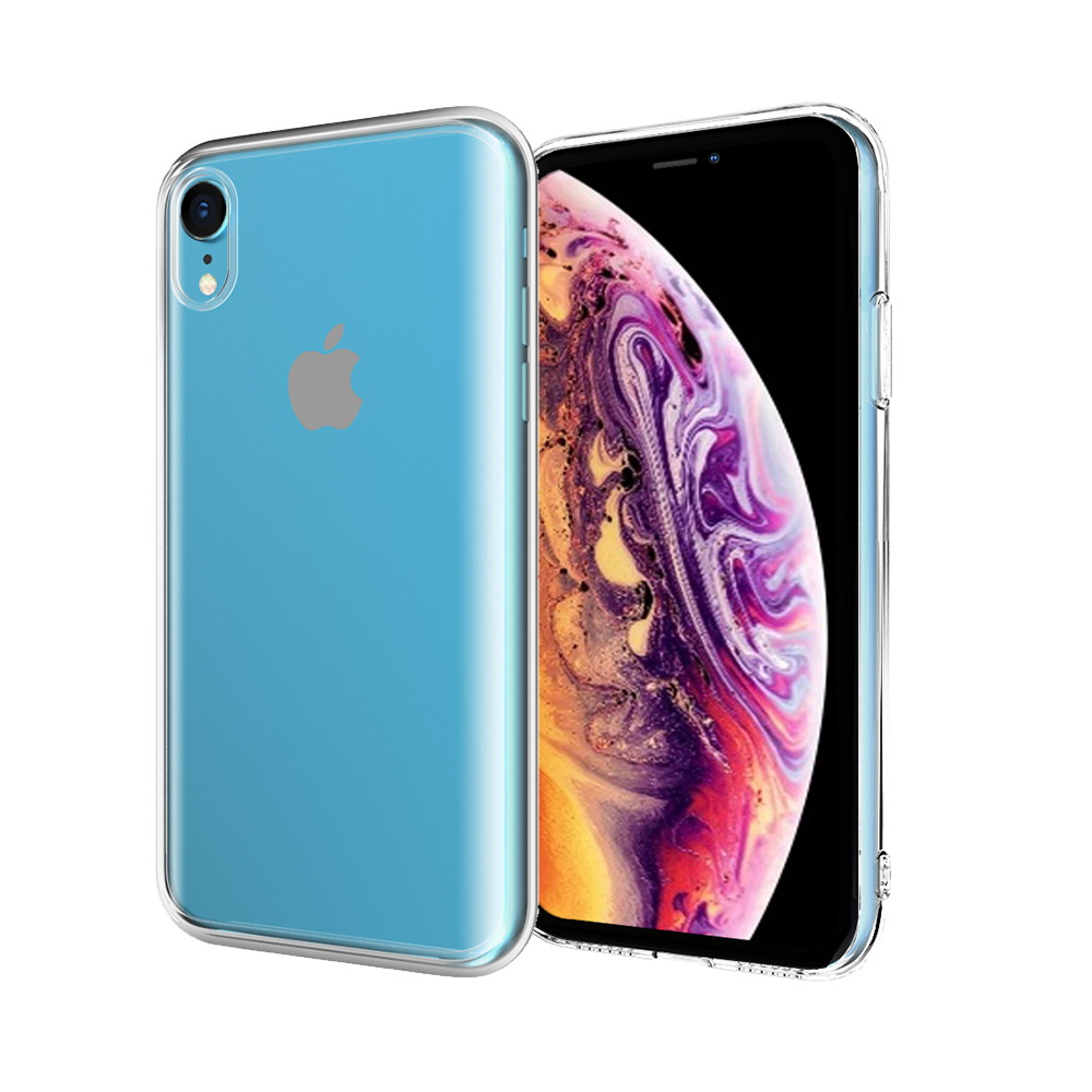 ABSOLUTE|LINKASE PRO 軍規防摔抗震大猩猩康寧曲面玻璃保護殼 iPhone XR(6.1吋)專用 -全透明