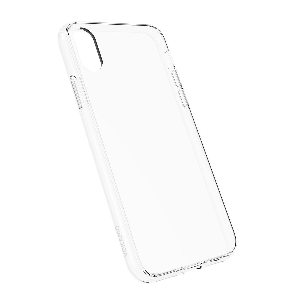 VOKAMO|Sdouble 雙料抗震防刮透明裸機感手機保護殼 iPhone XS Max (6.5吋) 專用 -全透明