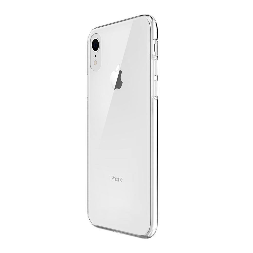 VOKAMO|Sdouble 雙料抗震防刮透明裸機感手機保護殼 iPhone XR (6.1吋) 專用 -全透明