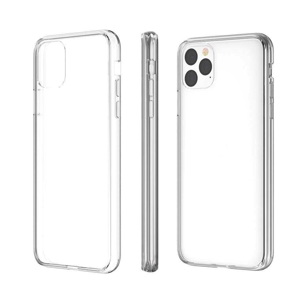 VOKAMO|Sdouble iPhone 11 Pro 5.8吋專用 雙料抗震防刮透明裸機感手機殼-極致透明