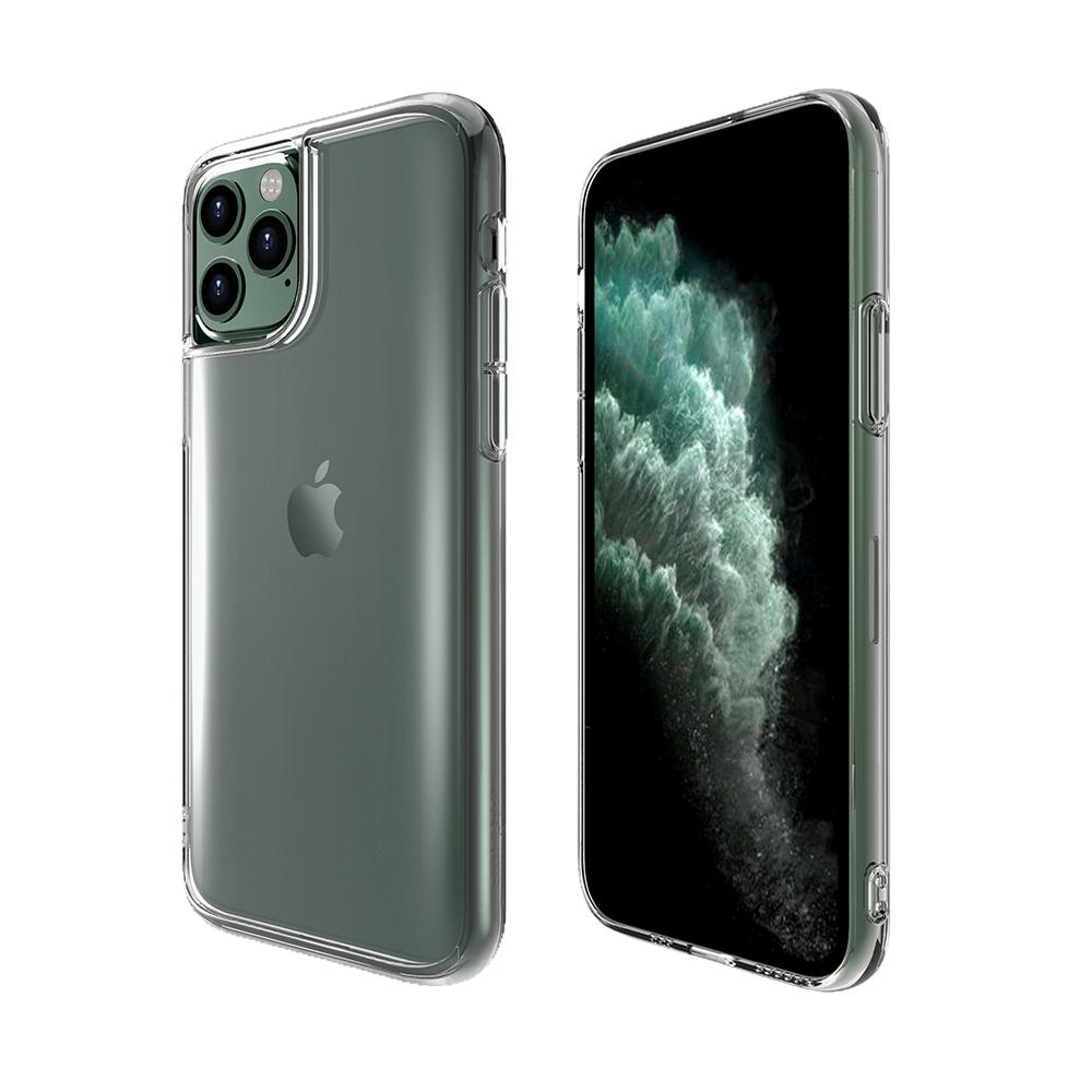 ABSOLUTE|LINKASE PRO iPhone 11 Pro 5.8吋專用 軍規防摔大猩猩康寧曲面玻璃抗黃邊框保護殼-激淨透