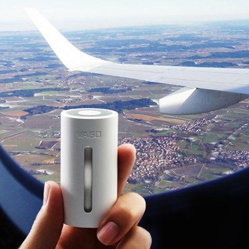 VAGO|全球專利旅行首選迷你真空壓縮器-簡約白