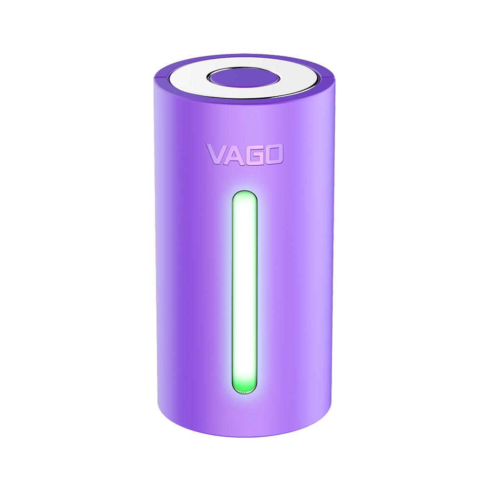 VAGO|全球專利旅行首選迷你真空壓縮器-時尚紫