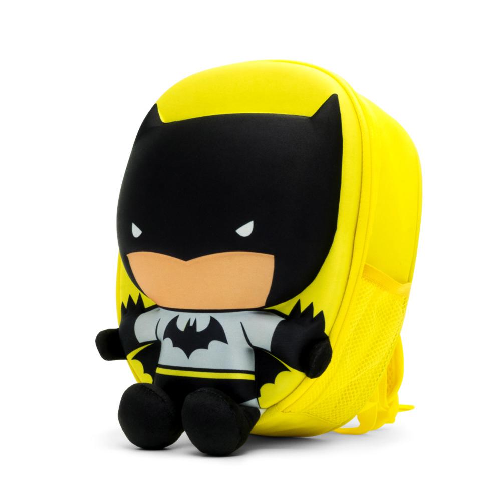 Travelmall|DC正義聯盟授權兒童專用3D立體後背包-BATMAN蝙蝠俠