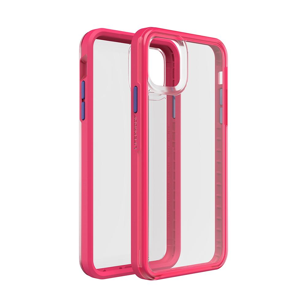 LIFEPROOF|iPhone 11 (6.1吋)專用 吸震抗衝擊輕量防摔手機殼-SLAM(透明/粉)