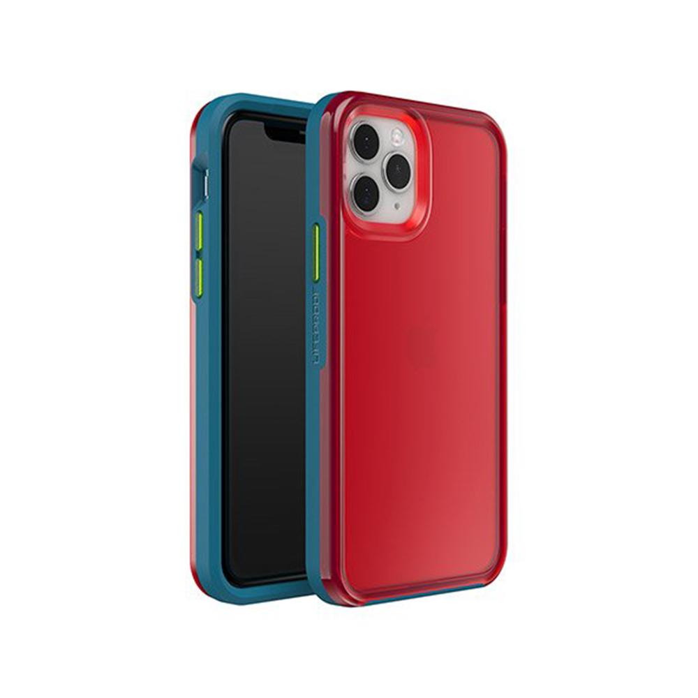 LIFEPROOF|iPhone 11 Pro (5.8吋)專用 吸震抗衝擊輕量防摔手機殼-SLAM(透紅/藍)