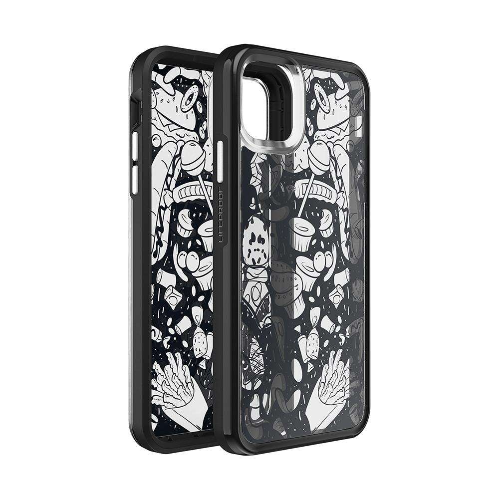 LIFEPROOF|iPhone 11 Pro (5.8吋)專用 吸震抗衝擊輕量防摔手機殼-SLAM(黑白彩繪/黑)