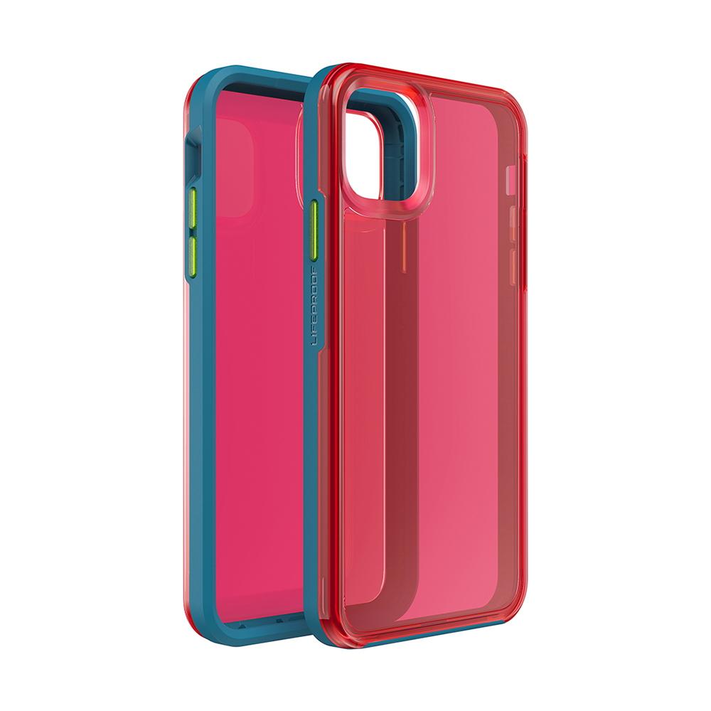 LIFEPROOF|iPhone 11 Pro Max (6.5吋)專用 吸震抗衝擊輕量防摔手機殼-SLAM(透紅/藍)