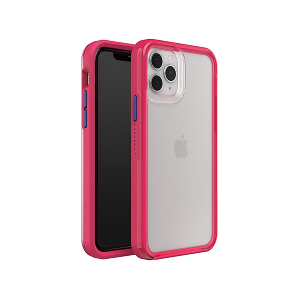 LIFEPROOF|iPhone 11 Pro Max (6.5吋)專用 吸震抗衝擊輕量防摔手機殼-SLAM(透明/粉)