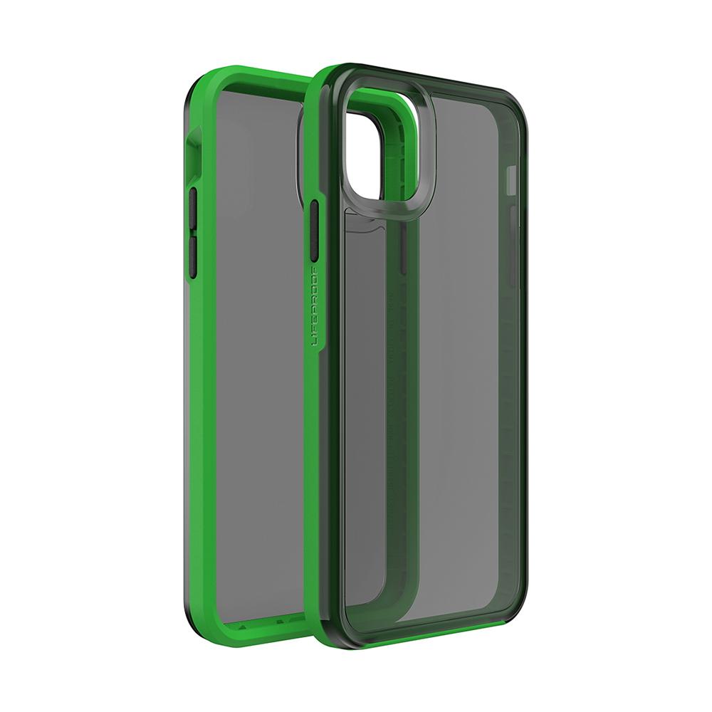 LIFEPROOF|iPhone 11 Pro Max (6.5吋)專用 吸震抗衝擊輕量防摔手機殼-SLAM(透黑/綠)