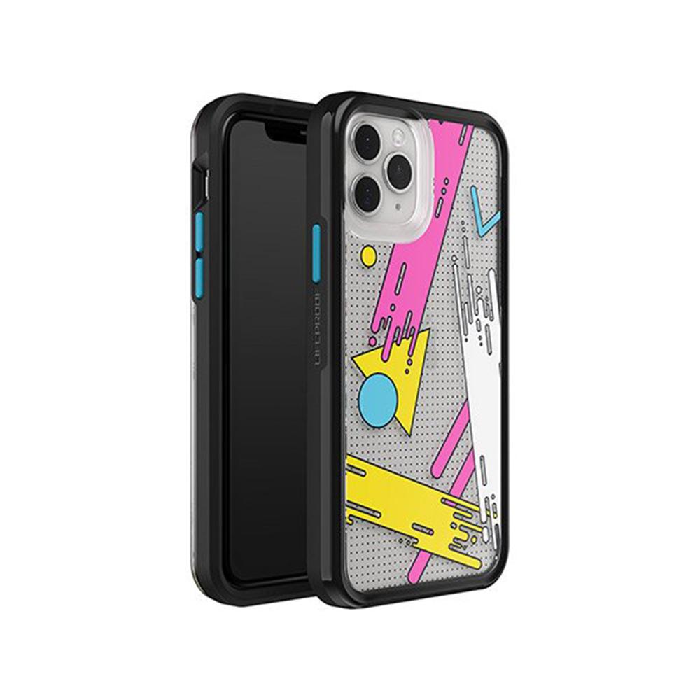 LIFEPROOF|iPhone 11 Pro Max (6.5吋)專用 吸震抗衝擊輕量防摔手機殼-SLAM(幾何彩繪/黑)