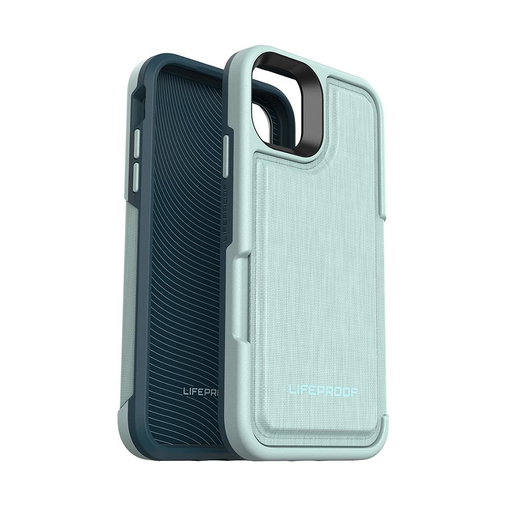 LIFEPROOF|iPhone 11 (6.1吋)專用 隱藏收納卡套式防摔手機保護殼-FLiP(淺綠)
