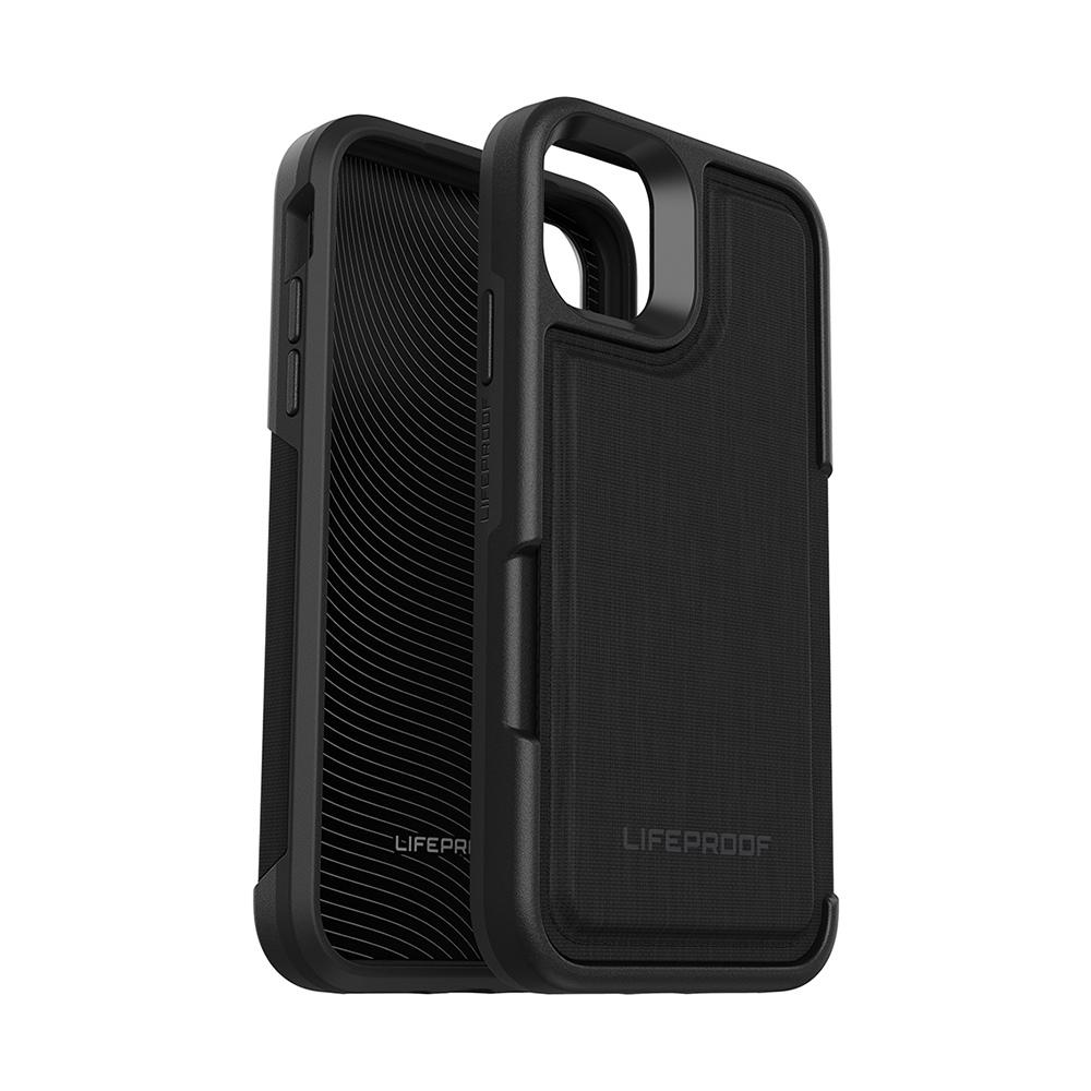 LIFEPROOF|iPhone 11 Pro (5.8吋)專用 隱藏收納卡套式防摔手機保護殼-FLiP(黑)