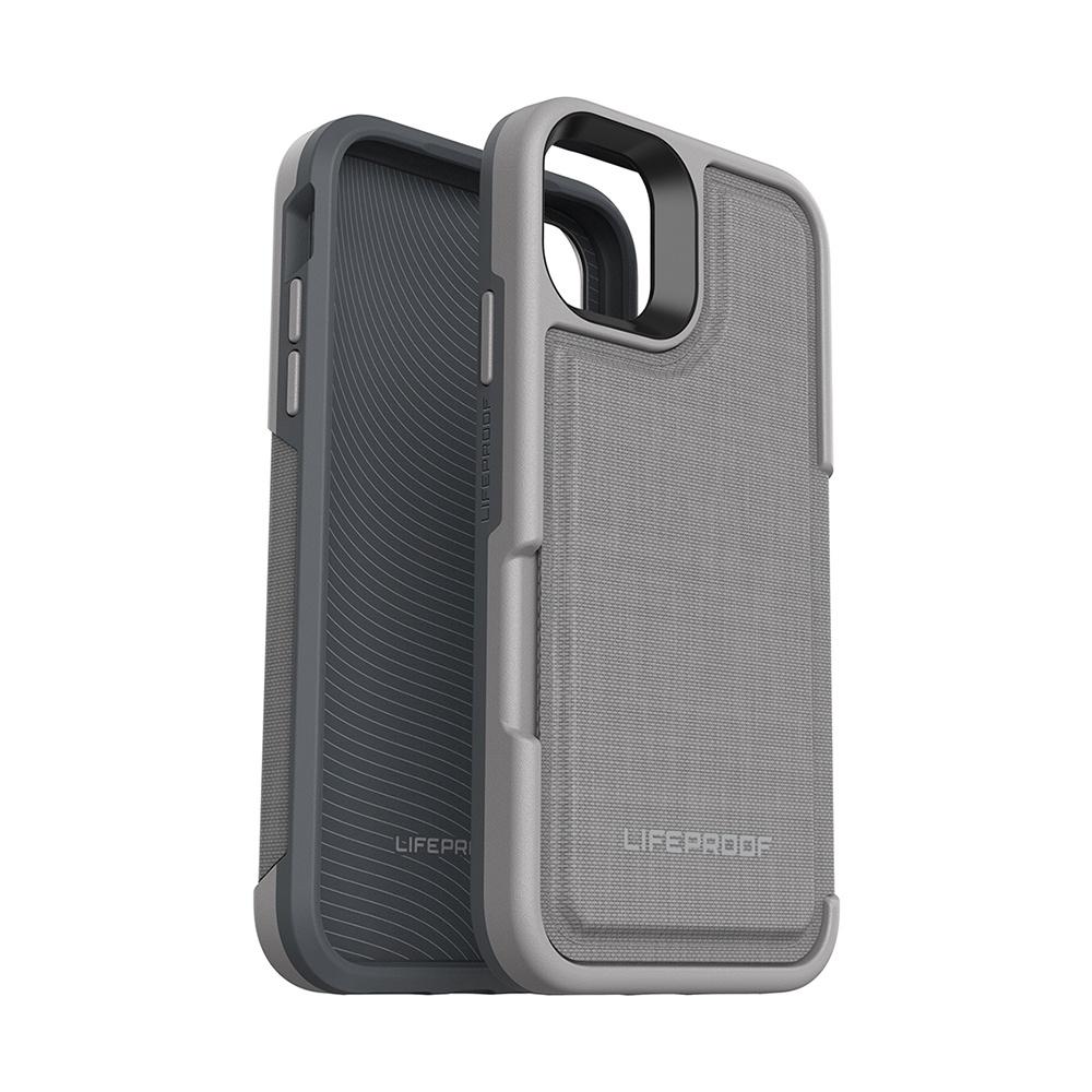 LIFEPROOF|iPhone 11 Pro Max (6.5吋)專用 隱藏收納卡套式防摔手機保護殼-FLiP(灰)
