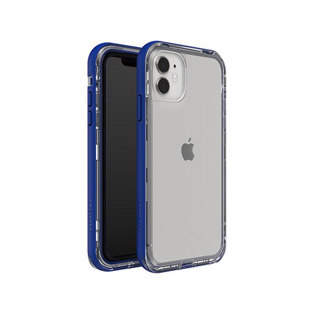 LIFEPROOF|iPhone 11 (6.1吋)專用 2米軍規防摔防雪防塵三防保護殼-NEXT(透明/藍)