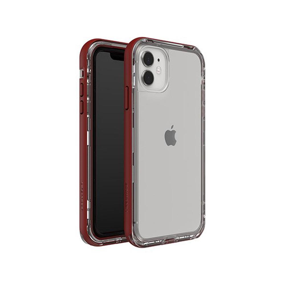 LIFEPROOF|iPhone 11 (6.1吋)專用 2米軍規防摔防雪防塵三防保護殼-NEXT(透明/紅)