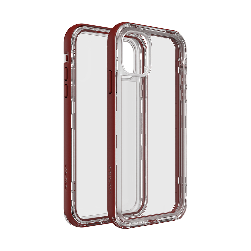 LIFEPROOF iPhone 11 (6.1吋)專用 2米軍規防摔防雪防塵三防保護殼-NEXT(透明/紅)