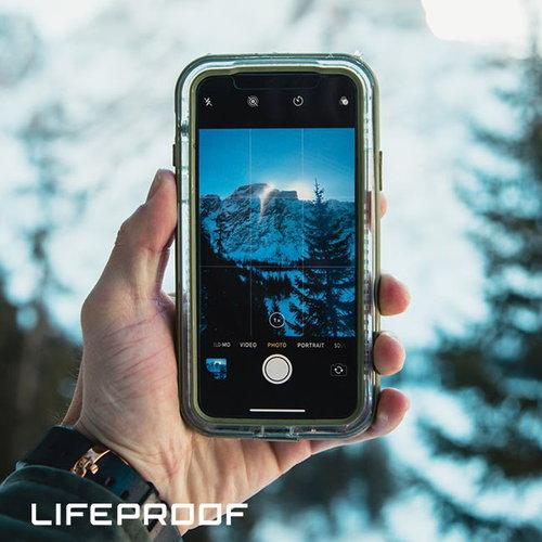 LIFEPROOF|iPhone 11 Pro Max (6.5吋)專用 2米軍規防摔防雪防塵三防保護殼-NEXT(透明/紅)