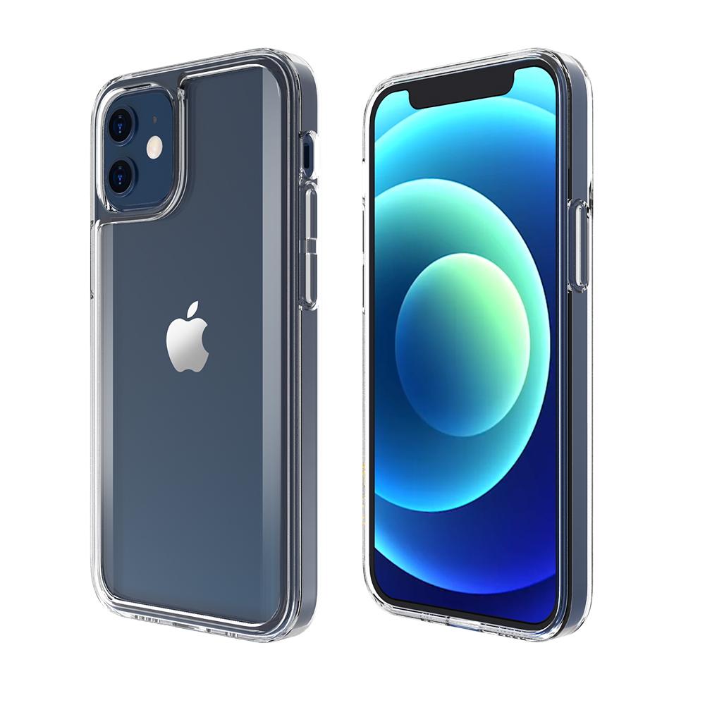 ABSOLUTE|LINKASEPRO iPhone 12 mini (5.4吋)專用 軍規防摔曲面康寧玻璃ADM專利保護殼-激淨透