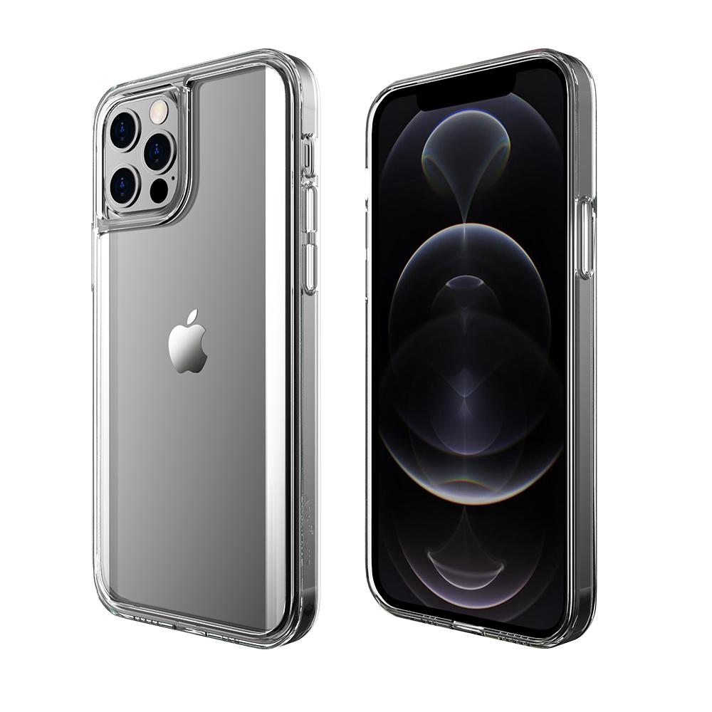 ABSOLUTE|LINKASEPRO iPhone 12/12 Pro (6.1吋)專用 軍規防摔曲面康寧玻璃ADM專利保護殼-激淨透