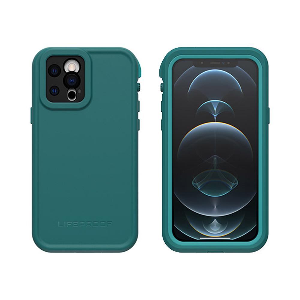 LIFEPROOF|iPhone 12 Pro (6.1吋)專用 防水防雪防震防泥超強四防保護殼-FRE(藍綠)