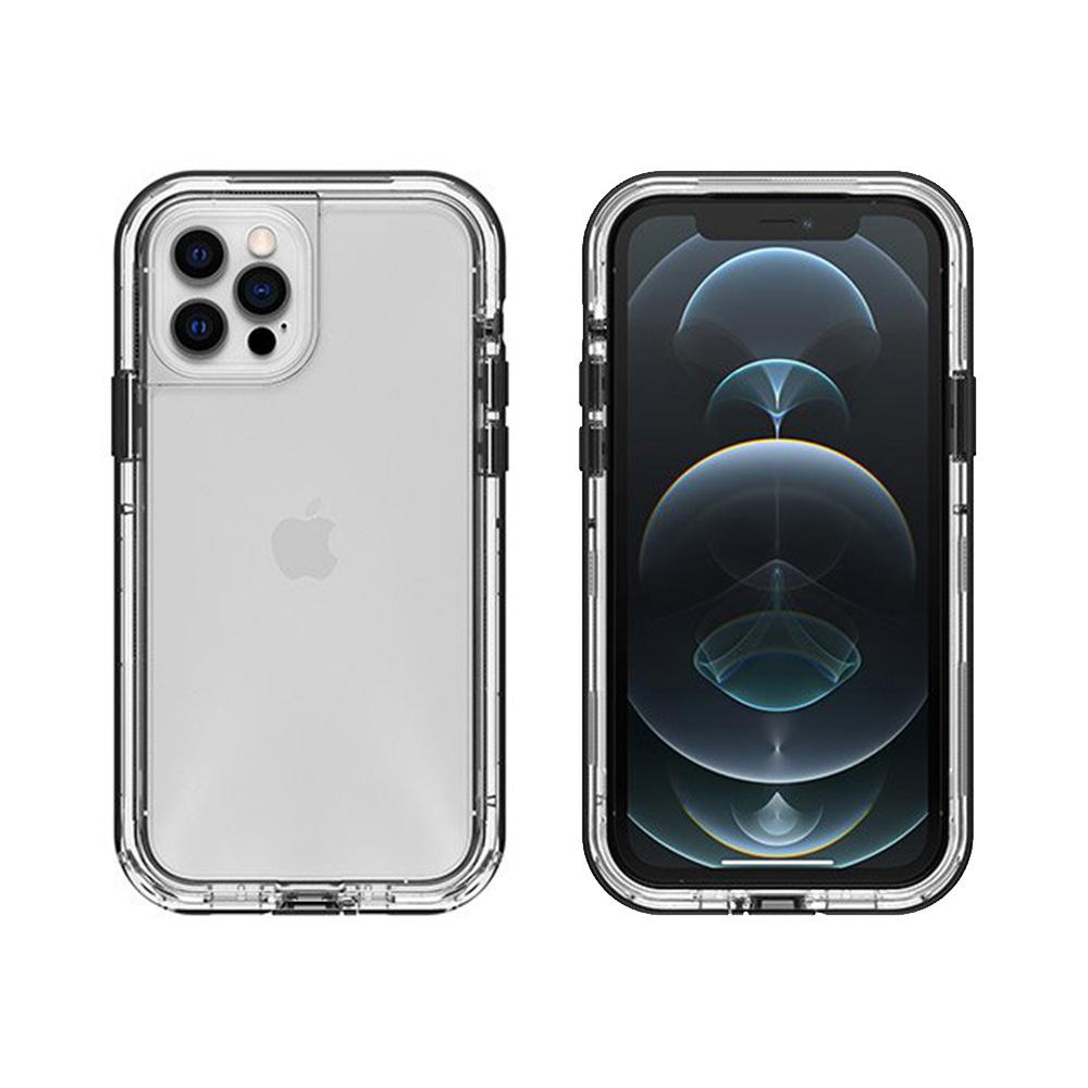 LIFEPROOF|iPhone 12/12 Pro (6.1吋)專用 2米軍規防摔防雪防塵三防保護殼-NEXT(透明/黑)